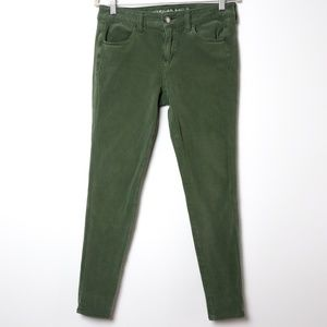 American Eagle | 360 Sateen Jegging in Olive